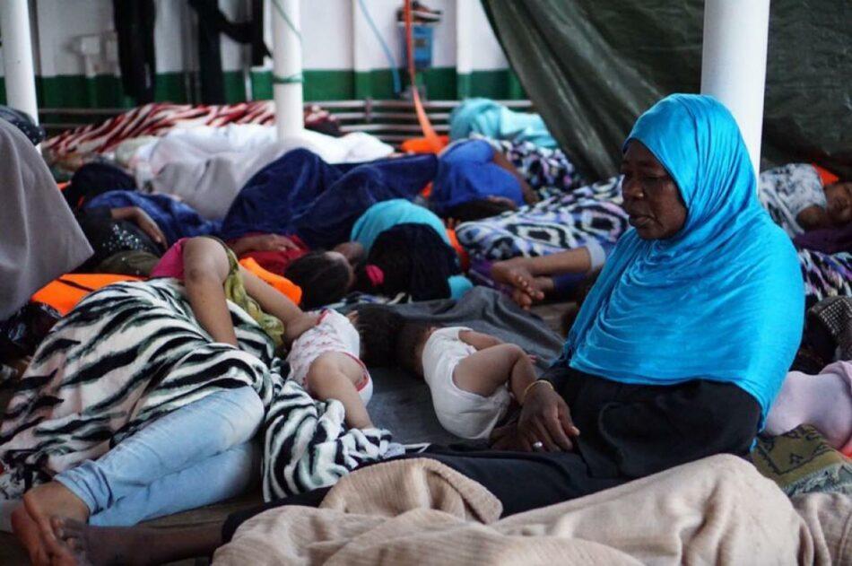 CCOO denuncia que la Unión Europea y sus estados miembros no permitan el desembarco en sus puertos de las personas rescatadas en el Mediterráneo