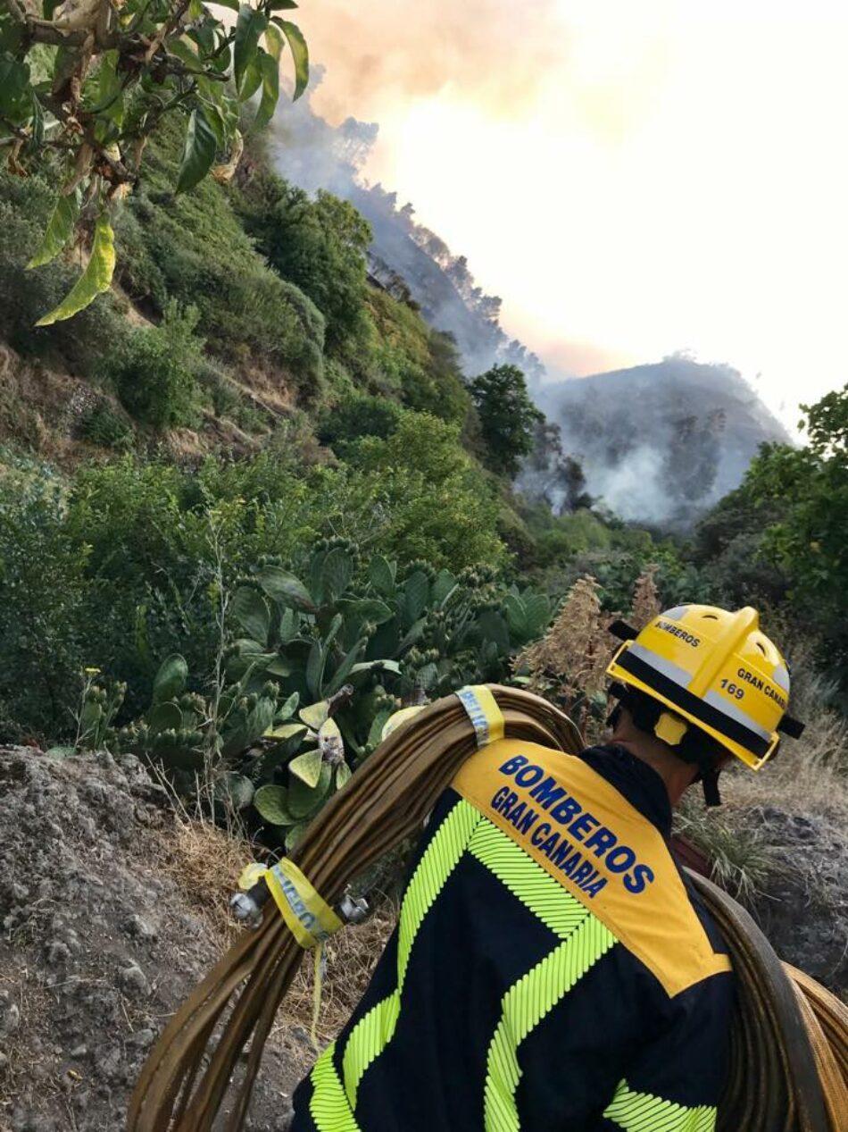 Incendio de Gran Canaria. Comunicado del cuerpo de bomberos
