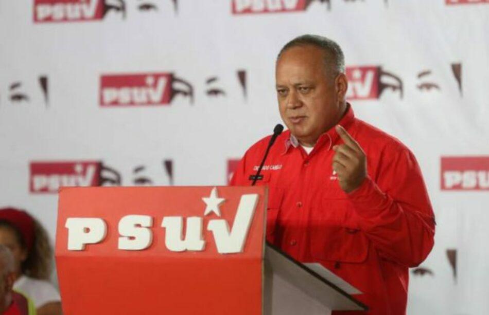 Venezuela. Cabello llama a estar alertas tras explosión de planta de llenado de gas doméstico