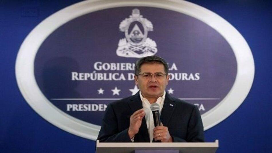 Continúan acciones de protesta contra presidente de Honduras