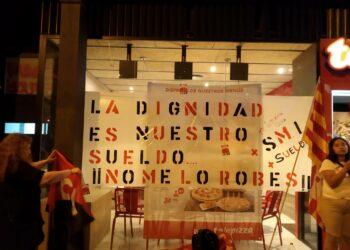 La CGT frente a la negociación del convenio de hostelería de la Región de Murcia