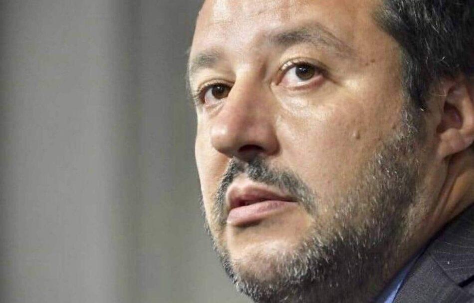 La fiscalía de Palermo pide encausar a Matteo Salvini por secuestro y abuso de poder
