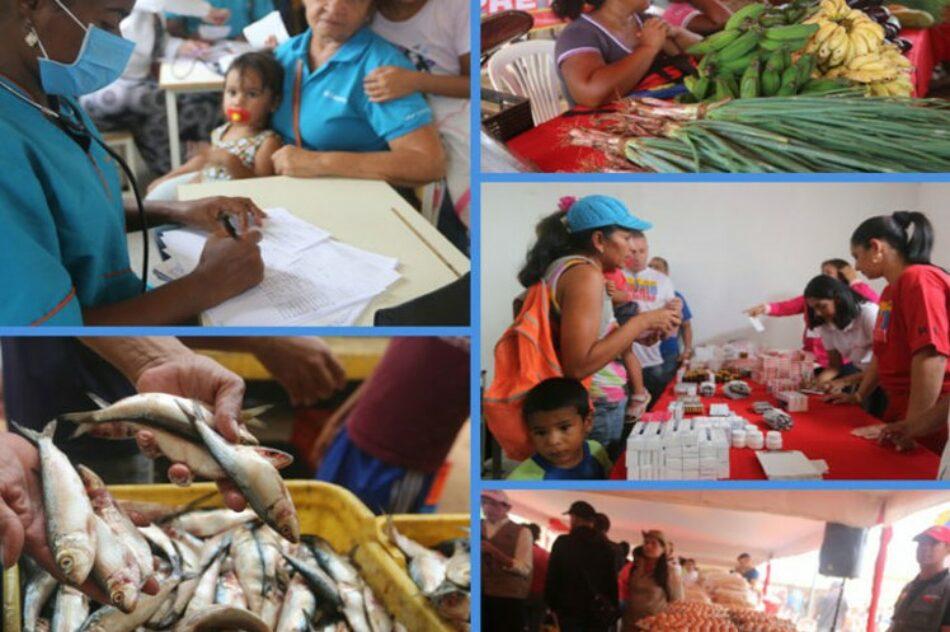 Gobierno venezolano atiende a millones de afectados por el bloqueo