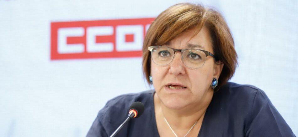 """Mari Cruz Vicente (CCOO): """"Además del control horario, hay que modificar la Reforma Laboral para frenar los abusos de los empresarios"""""""