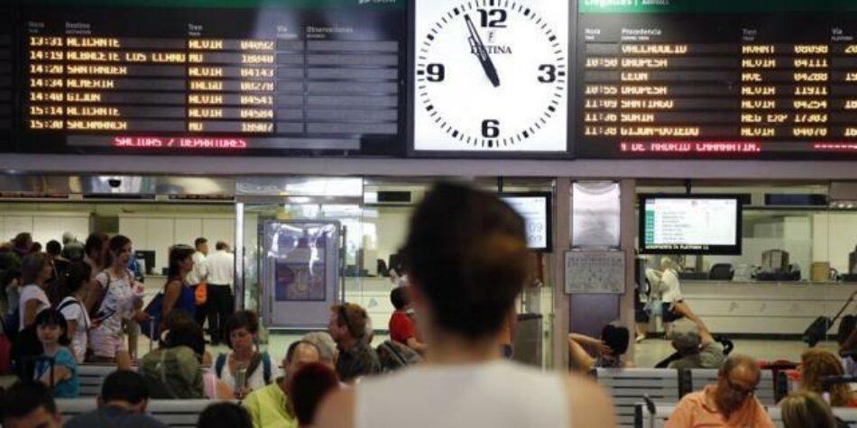 Huelga en RENFE: «el decretazo de los Servicios Mínimos impide el derecho fundamental a la huelga de miles de trabajadores»