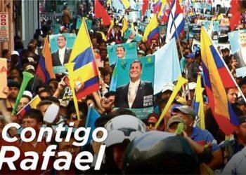Rafael Correa ratifica intención de volver como vicepresidente de Ecuador
