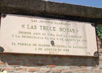 Presentan denuncia en Juzgado de Lorca por calumnias vertidas por varios medios de comunicación en relación a «Las Trece Rosas»