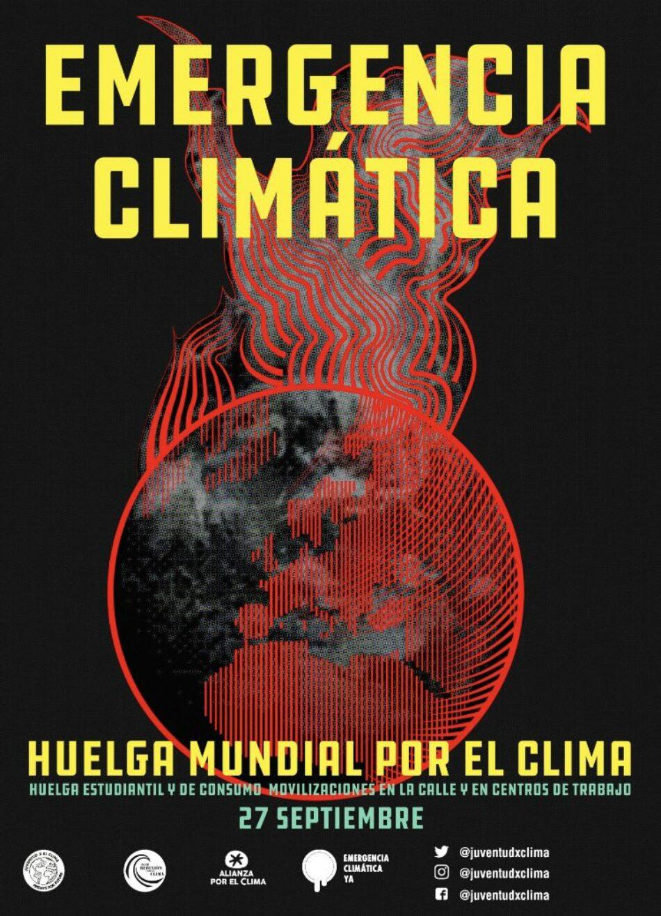 Fundación Global Nature se une a la Huelga Mundial por el Clima