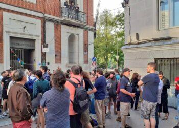 Libres y Combativas: «¡No al Madrid de la especulación y la corrupción de Almeida y Villacís!»