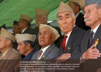 Bolivia. Evo Morales ratifica compromiso del Estado por una vejez digna