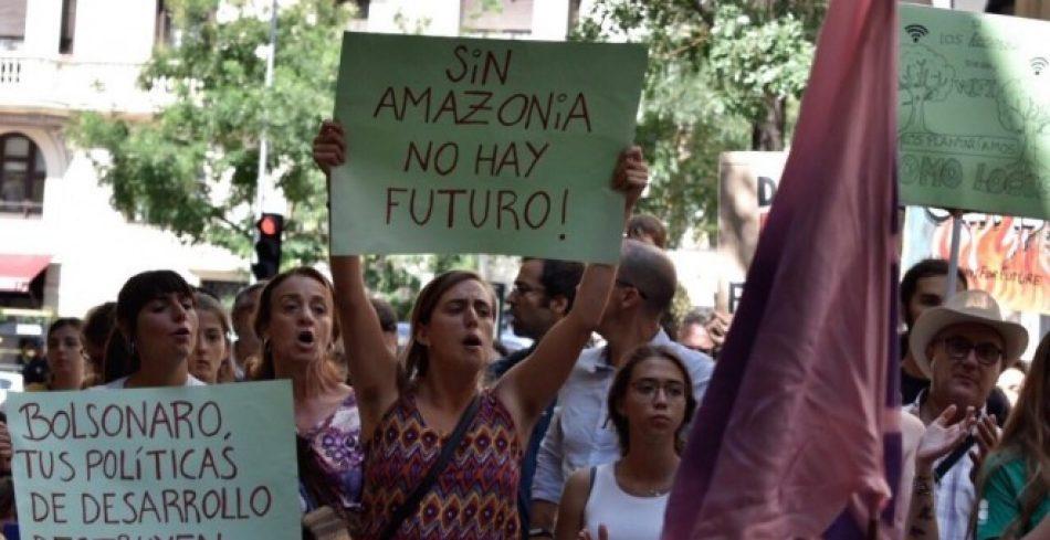 Fridays For Future denuncia la actitud de la embajada de Brasil en España