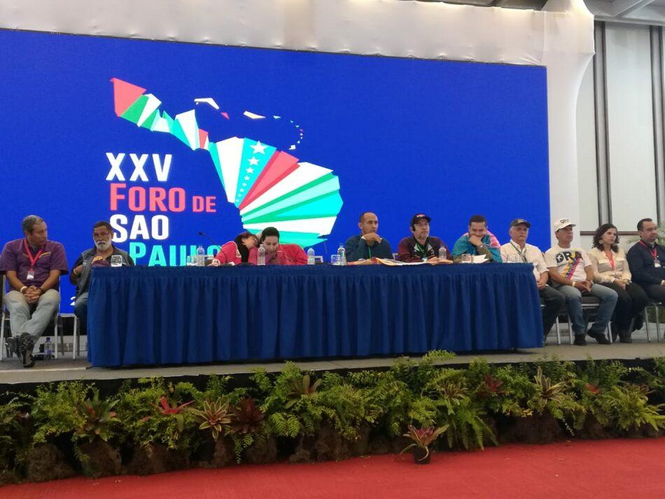 Foro de Sao Paulo reitera su solidaridad con el Frente POLISARIO y la República Saharaui (RASD)