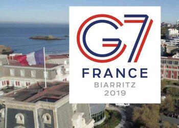 Culmina en Biarritz una cumbre del G-7 marcada por desencuentros