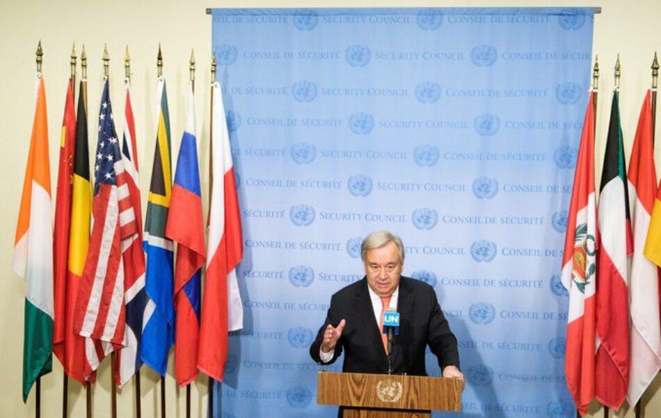 Naciones Unidas lamenta el abandono unilateral estadounidense del Tratado INF