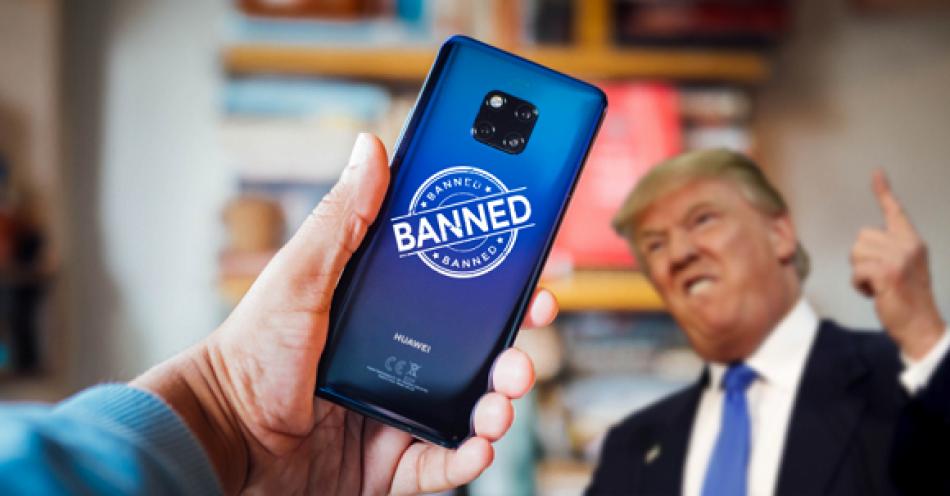 Entra en vigor veto de Estados Unidos contra la compañía china Huawei