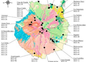 A finales de julio se publicó que «Gran Canaria podría albergar toneladas de tierras raras, el nuevo oro tecnológico»