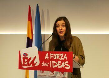 """Eva Solla, respecto ao informe sobre as Contas do Sergas: """"A Xunta debería pedir desculpas aos profesionais da sanidade pública"""""""