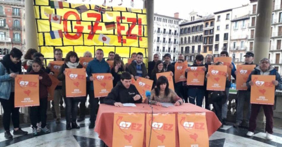 """Izquierda Unida se """"suma"""" y """"llama a la ciudadanía a participar en la Cumbre Alternativa en Irún y Hendaye"""" previa a la reunión del G7 de Biarritz"""