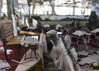Atentado terrorista deja al menos 63 muertos en Kabul, Afganistán