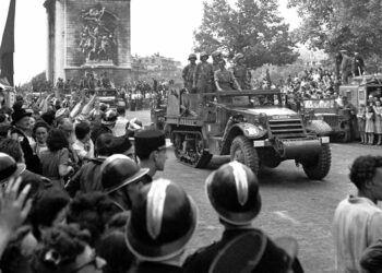 75 aniversario de la liberación de Paris
