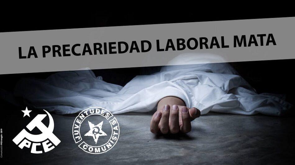Dos nuevas víctimas de la siniestralidad laboral en Aragón