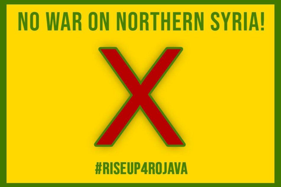 Llamada de la Comuna Internacionalista de Rojava contra la invasión turca