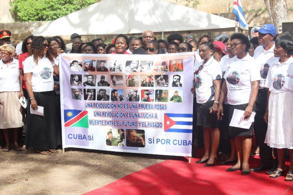 En Namibia admiran a Fidel y a Cuba