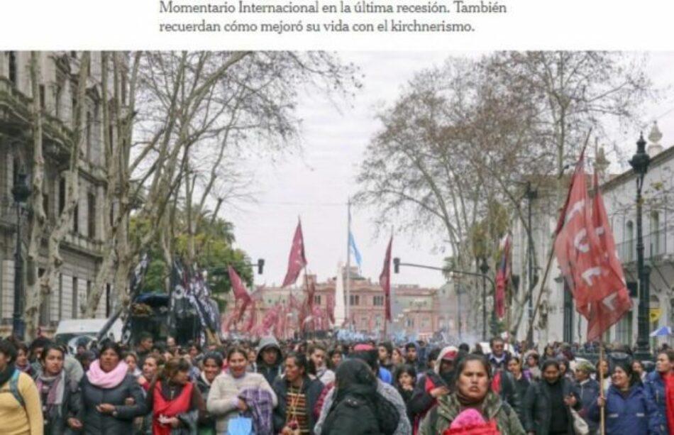 Argentina. El New York Times responsabiliza a Macri por la crisis