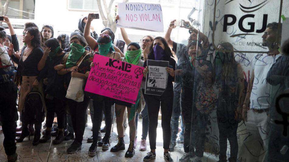Movilizaciones multitudinarias inundan las calles de México contra la violencia de género