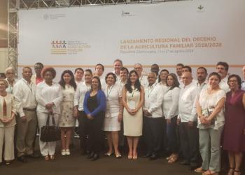 Nicaragua participa en el lanzamiento regional del Decenio de la Agricultura Familiar 2019-2028