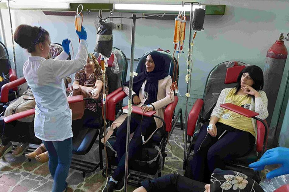 Bloqueo de Occidente afecta hospitales de tratar el cáncer en Siria