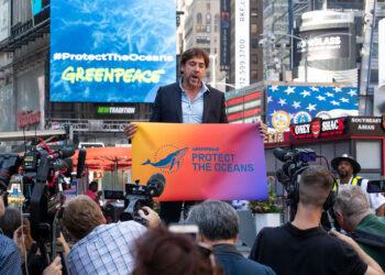 Javier Bardem pide en Nueva York a los líderes mundiales que aprueben un Tratado Global de los Océanos