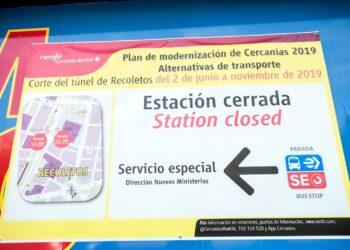 La Juventud Comunista y el Partido Comunista en Madrid denuncian el lamentable estado de la red pública de transporte en la Comunidad