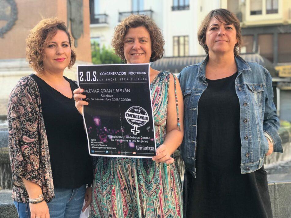 El PCA llama a la movilización ante la situación de 'Emergencia Feminista'