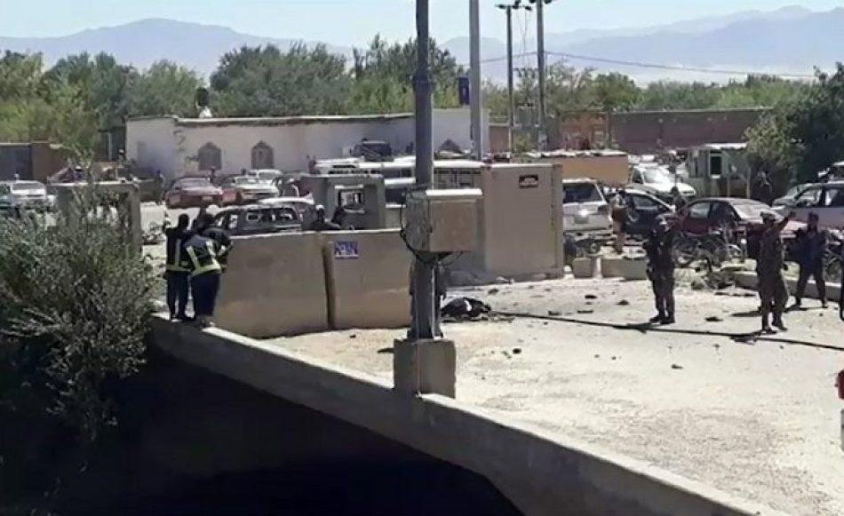 Al menos 24 muertos en el ataque a un mitin del presidente Ashraf Ghani en Afganistán