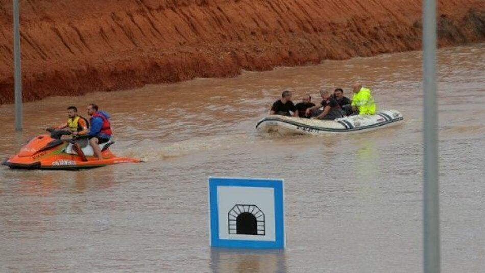 Las lluvias torrenciales se cobran la vida de al menos tres personas en Almería y Albacete
