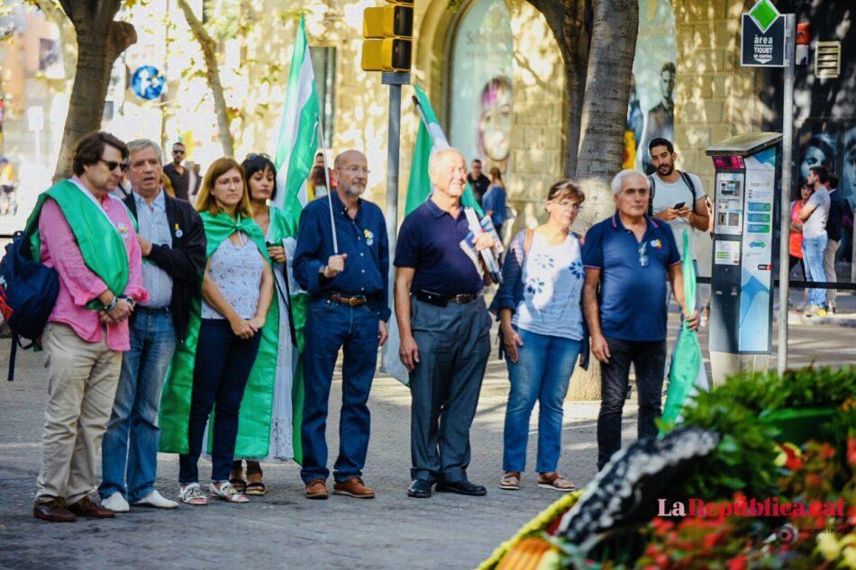 El Partido Nacionalista Andaluz y la Asamblea Nacional Andaluza acudirán a la Diada de Catalunya