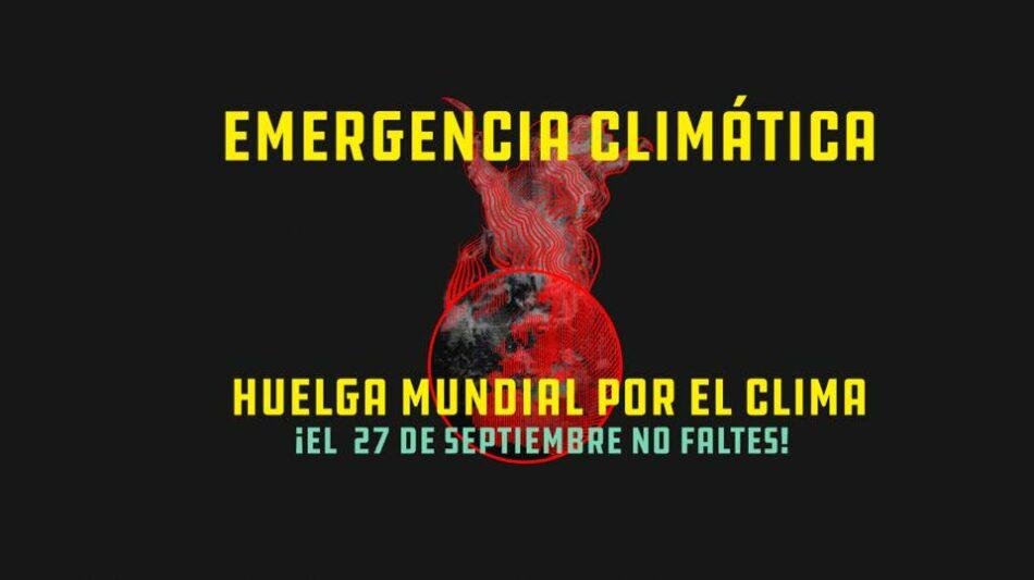 Alrededor de medio millar de organizaciones secundan ya la Huelga Mundial por el Clima