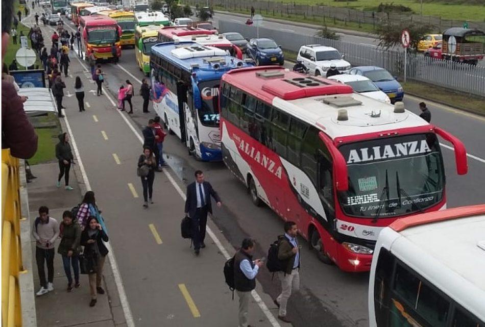 Los transportistas inician una huelga general en Colombia