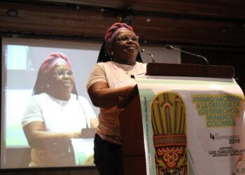 Clemencia Carabalí: premio a la Defensa de los Derechos de las comunidades negras