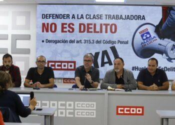 CCOO manifiesta su solidaridad con los detenidos de Alcoa y pide que se archive el caso