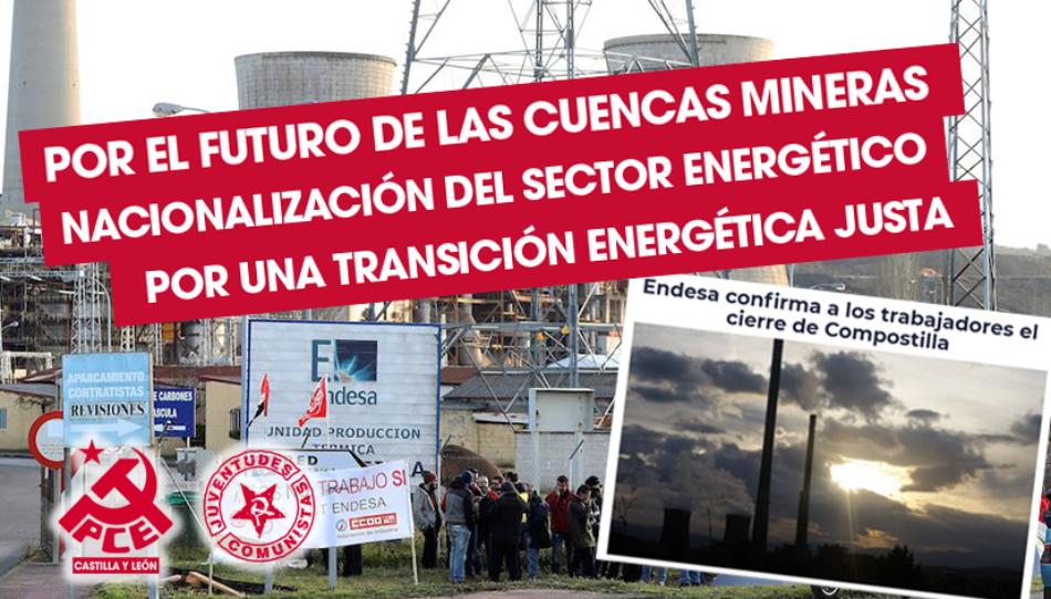 El PCE de El Bierzo denuncia falta de compromiso ante el cierre de al central térmica de Compostilla II