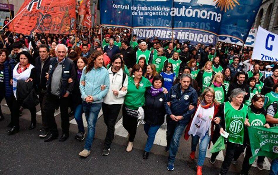 Los sindicatos argentinos convocan a la movilización general
