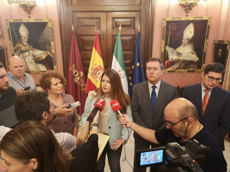 El Ayuntamiento de Sevilla reivindica la figura de Blas Infante con la negativa de Vox y la ausencia del Partido Popular