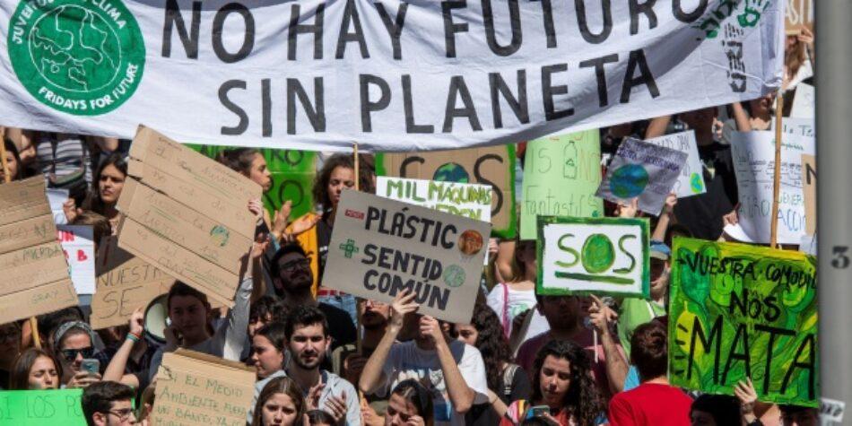 Esquerda Unida súmase á alianza mundial pola declaración da Emerxencia Climática no Planeta