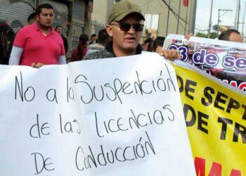 Represión en el paro nacional de transportistas en Colombia