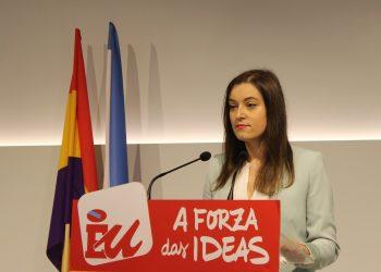 Eva Solla presenta a súa candidatura ás primarias de Esquerda Unida á presidencia da  Xunta de Galicia