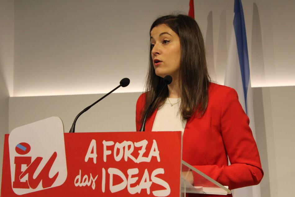 """Eva Solla: """"Feijóo tenta desmarcarse do PP no seu discurso para minimizar dez anos de recortes"""""""