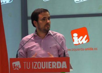 """Garzón dice que """"IU no tiene miedo a la campaña"""" y adelanta que """"se centrará en nuestro programa»"""