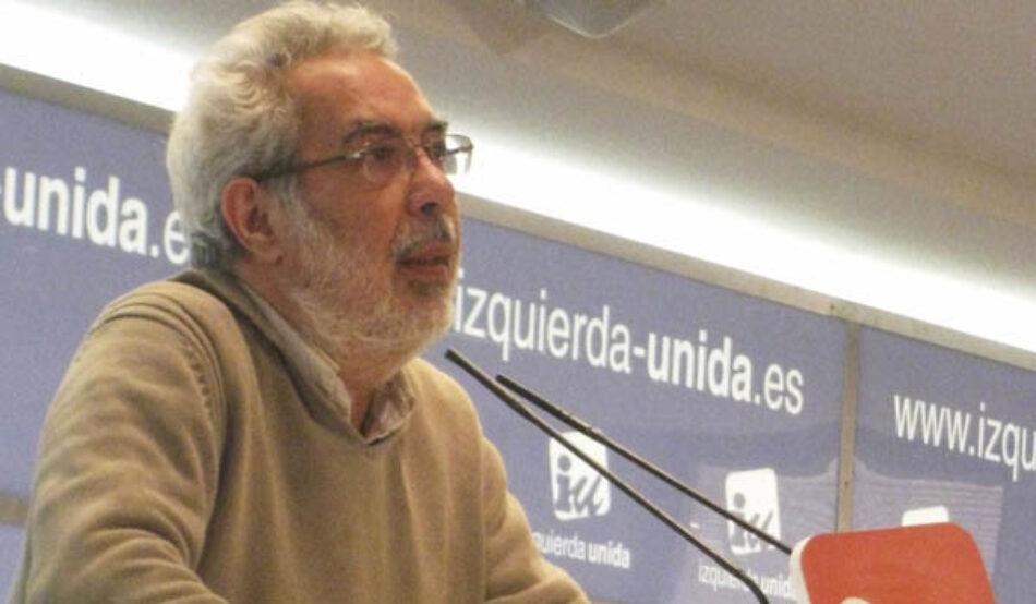El sector de José Antonio García Rubio reune los avales para su documento alternativo de cara a la XII Asamblea de IU